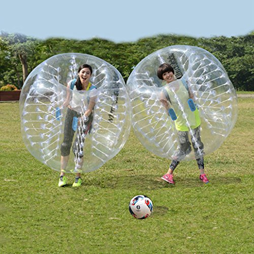 Oanon Inflatable Bumper Ball 1 5M 5Ft Diameter Bubble Soccer Ball Blow Up Toy  Inflatable Bumper Bubble Balls Soccer Football For Adults Or Child
