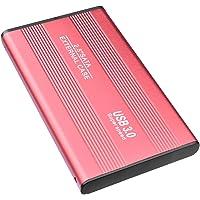 "Prode Disco Duro Externo 2TB Portátil 2.5"" USB3.0 Disco Duro Externo para PC, Mac, Desktop, Laptop, MacBook, Chromebook, Xbox One (2 TB, Rojo-b)"