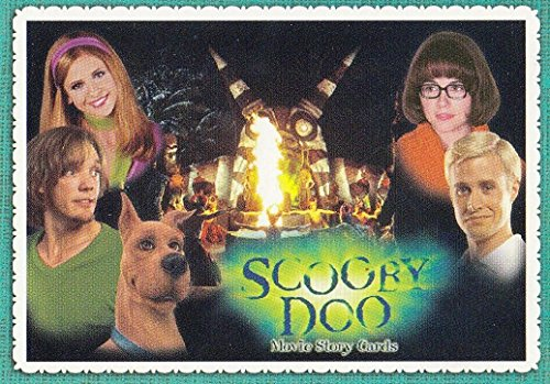 SCOOBY DOO MOVIE 2002 INKWORKS PROMO CARD SD2 NSU NON SPORT UPDATE