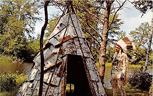 Postcard Teepee (Be It Ever so Humble Teepee Indian Postcard)