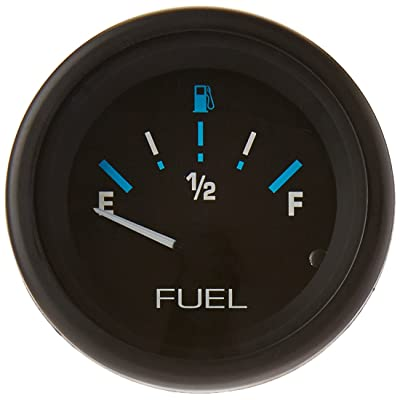 "Sierra International 68390P E-F Dial Range Scratch Resistant Domed Glass Lens Eclipse Fuel Gauge, 2"": Automotive"