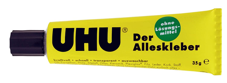 UHU Universal glue, 35g - Goma (35g, Amarillo) 48295 HZB48295