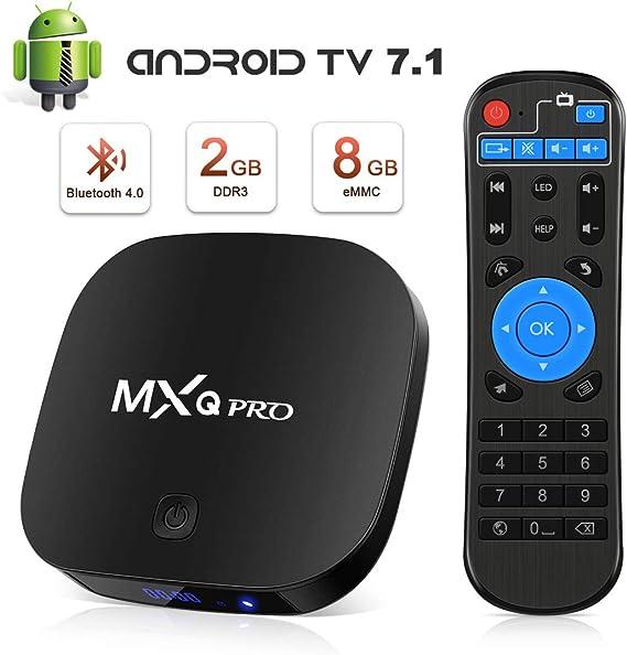 TV Box 2GB RAM+8GB ROM, Leelbox TV Box Quad Core , 4K*2K UHD H.265, HDMI, USB*3, WiFi Media Player, Box TV Android: Amazon.es: Electrónica