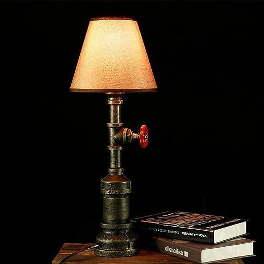 AILI Lámparas de Escritorio Lámparas de Mesa y Mesilla American ...