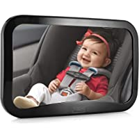 WindGallop Baby Car Mirror for Back Seat Rear View, Baby Backseat Mirror, Baby Rear View Mirror, Baby Mirror for Rear…