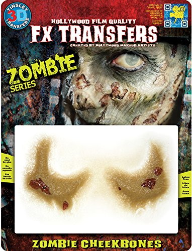 Tinsley Transfers 3D FX Zombie Cheekbones]()