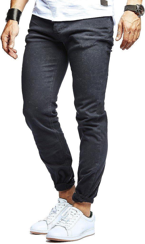 LEIF NELSON Herren Chino-Hose | Moderene Stoffhose für Männer aus Baumwolle | Sommerhose Freizeithose Slim Fit 271CH