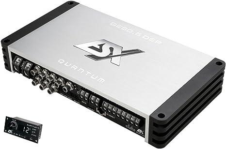 ESX QE80.6 DSP - 6-Kanal Endstufe mit DSP: Amazon.it: Elettronica