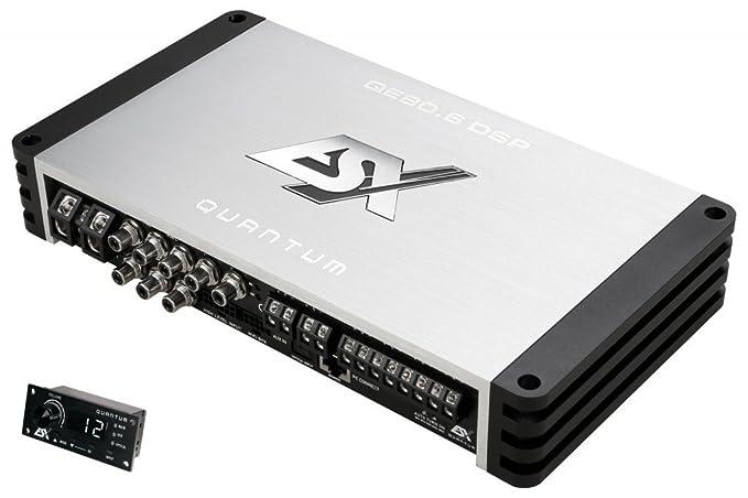 Eton SDA100.6 Digital 6-Kanal Endstufe Verst/ärker 6 x 110W br/ückbar KFZ Audio