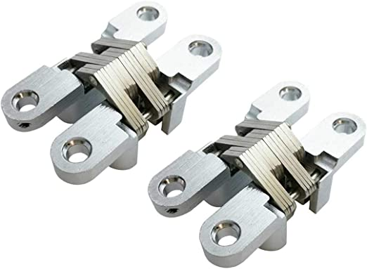 Pair Stainless Steel Quality Hinges Small-Large Door Gate Cabinet Cupboard