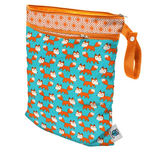 Planet Wise Wet/Dry Sly Diaper Tote Bag