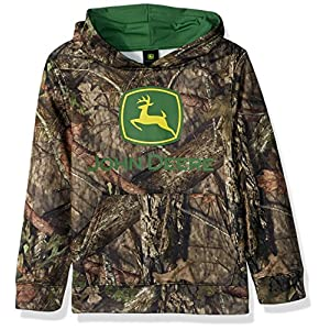 John Deere Tractor Big Boys' Fleece Pullover Poly Sweatshirt