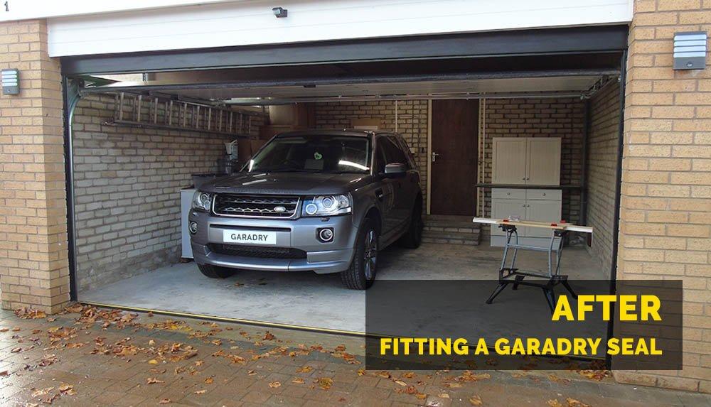 Garadry ¾'' Garage Door Threshold Seal Kit 16'3''