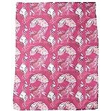 Honolulu Pink Blanket: Large