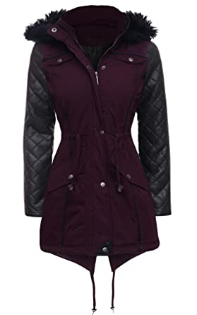 Image Unavailable. Image not available for. Colour  M1427 New Womens Ladies  Parka Jacket ... 8c0f5f5772