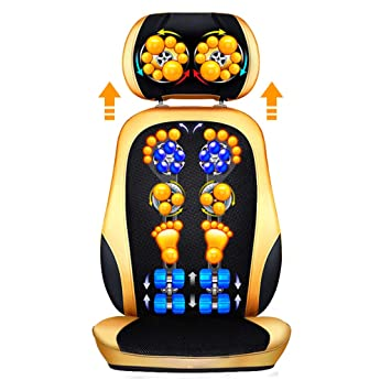 LYXPUZI Cojín de masaje shiatsu Masajeador eléctrico ...