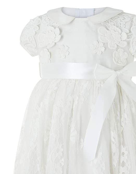 5650d588fd7 Amazon.com: Baby Provenza Silk Christening Gown: Clothing