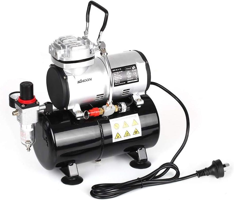 SYH01 Compresor de Aire pulverizado con Tanque 1/6 HP Pistón ...