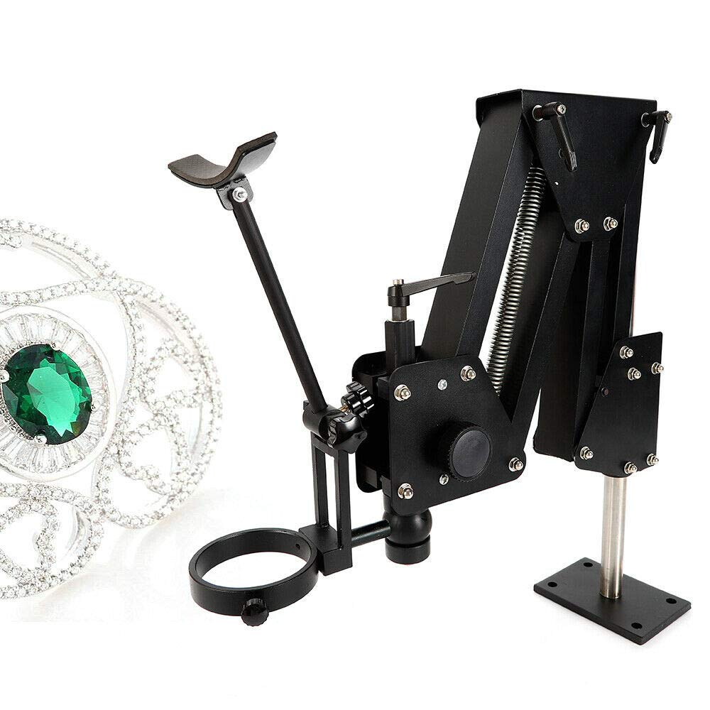 YUNRUS Spring Flex Stand for Jewelers Gem Setting Microscope Jewelry Microscope (Microscope Stand + NO Microscope Included) by YUNRUS