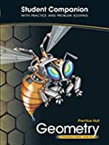 Prentice Hall Geometry Foundation Series: Student Companion with Practice and Problem Solving