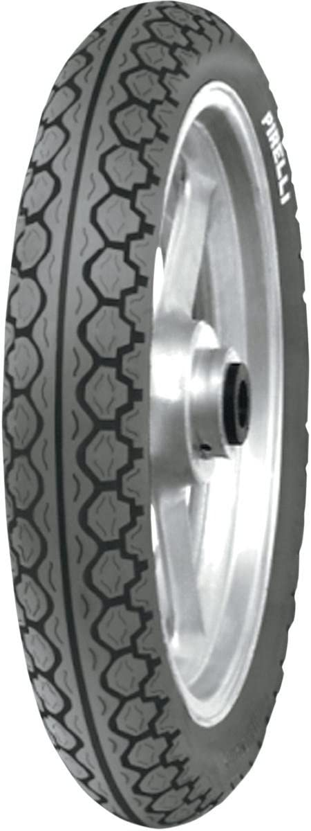 Rim Size: 14 Position: Front Load Rating: 59 Tire Size: 110//80-14 Tire Type: Scooter//Moped Speed Rating: J 1002400 Pirelli Mandrake MT 15 Moped Tire Front 110//80-14