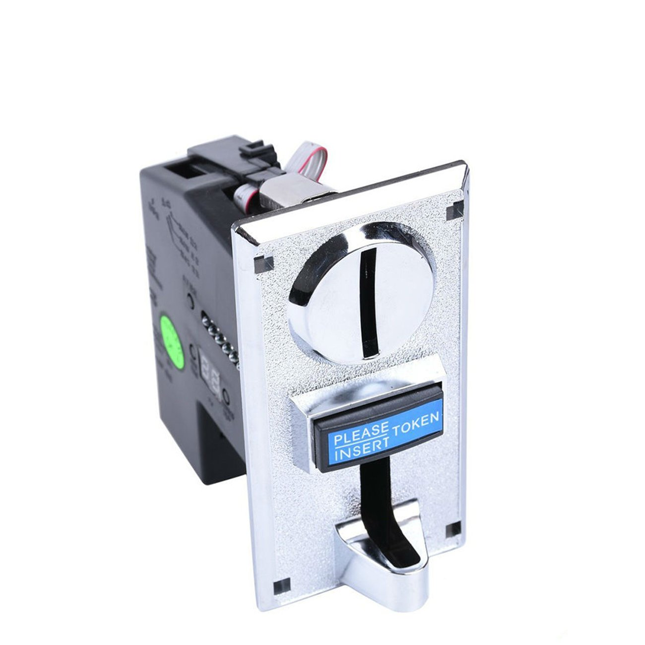 Hangang Coin Acceptor, 6 Kinds Different Coin Operated,Coin Selector Support Multi Signal Output,for Arcade Video Games Vending Machine Etc