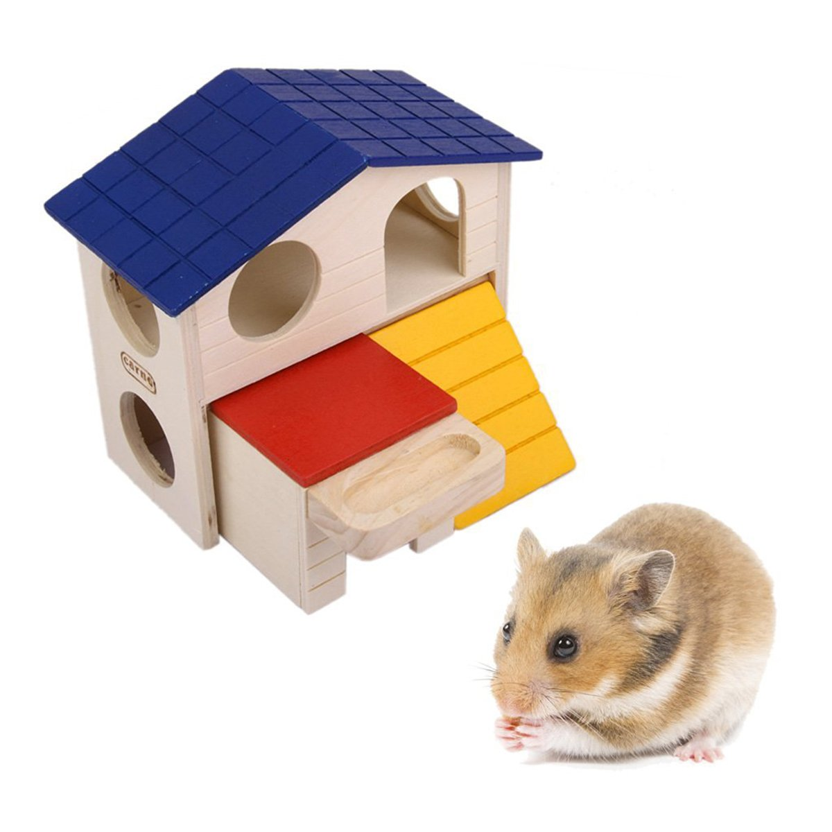Fenical Hamster Mouse Gerbil House Habitat Small Animal Hideout Hut