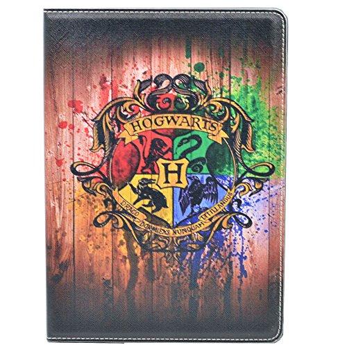 Unique Hogwarts Watercolor Pattern Leather product image