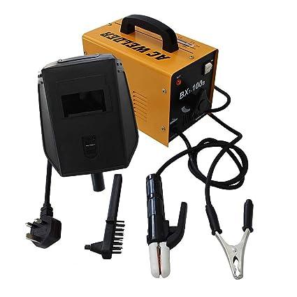 Todeco - Máquina de Soldadura de Arco, Equipo Completo para Soldadura - Accesorios: (