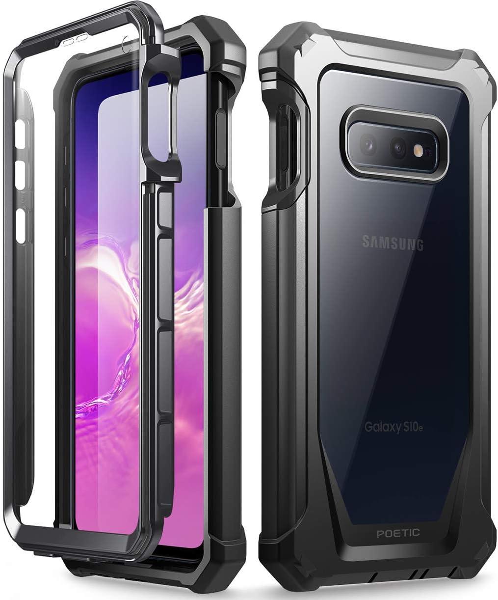 Resistente a los Rayones Negra Cuerpo Robusto H/íbrida y Protector de Pantalla para Samsung Galaxy S10e Poetic Funda Galaxy S10e Carcasa Guardi/án para Samsung Galaxy S10e