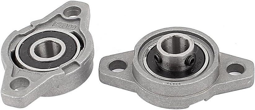 KFL001 CNC self-aligning Bearing Flange Bearing 12mm Block Bearing 2PCS Shaft