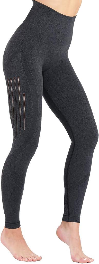 TrainingGirl High Waist Workout Yoga Leggings for Women Running Gym Fitness Pants Tummy Control Seamless Leggings Tights