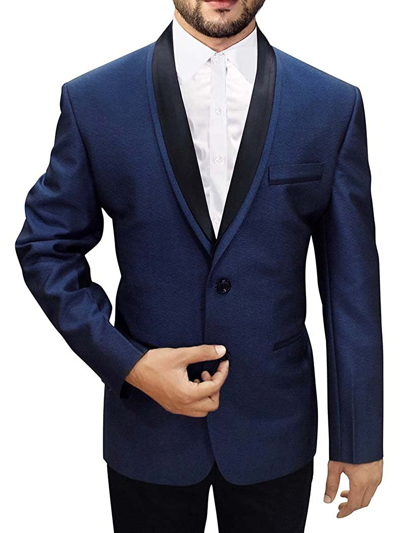 INMONARCH BLAZER メンズ B077NFGGCT 54 X-LONG (Price: $296.00)|Navy Blue (Price: $237.00 - $296.00) Navy Blue (Price: $237.00 - $296.00) 54 X-LONG (Price: $296.00)