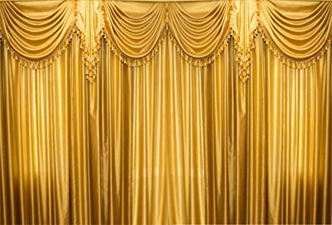 Leyiyi 10x8ft Luxury Window Curtain Backdrop Wedding Ceremony Marriage Stage Room Interior Background Romantic Engagement Hotel Hall Bridal Shower
