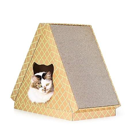 WCG Cama De Gato Mayor Cueva, Animal Favorito De Gato Casa Cat Rascador De Gato
