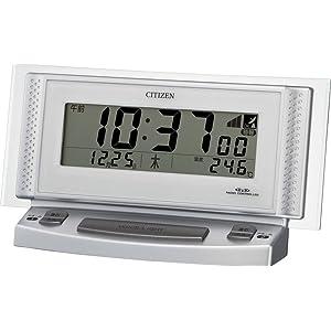 シチズン 電波目覚まし時計 パルデジットボイス2 音声アラーム 8RZ102-019