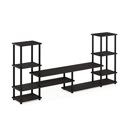 FURINNO 14146EX BK Grand Entertainment Center, Espresso Black