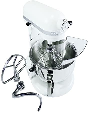 KitchenAid Professional 600 Series KP26M1XER Bowl Lift Stand Mixer, 6 Quart,  Meringue