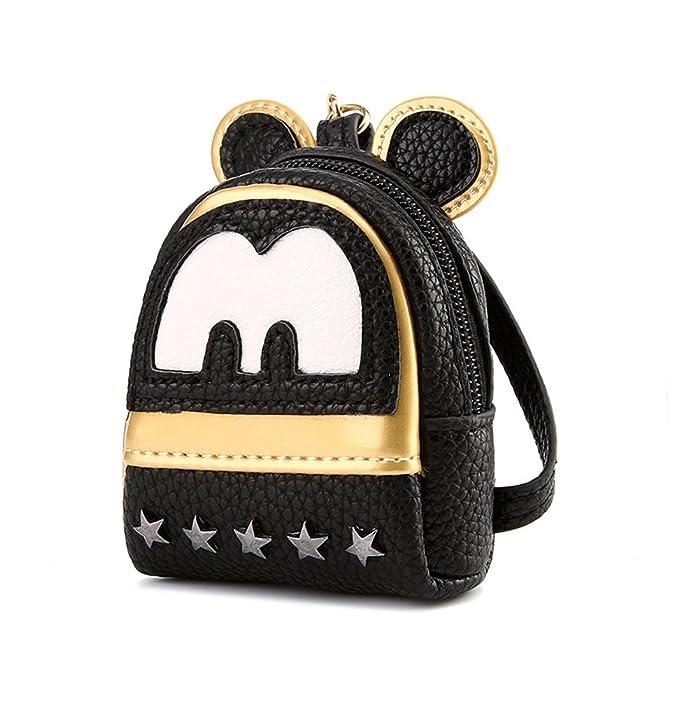 groodo® Mujer Disney Mickey Mouse Mini monedero titular de la tarjeta Cartera: Amazon.es: Ropa y accesorios