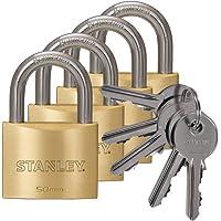Stanley S742-039 candados macizos de con arco estándar