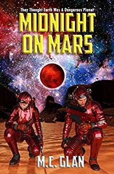 Midnight on Mars by [Glan, M.C.]