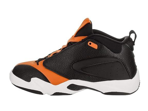 eac0c6e0d5957 Jordan Nike Men's Jumpman Quick 23 Black/Black/Orange Peel/Sail Basketball  Shoe 11 Men US