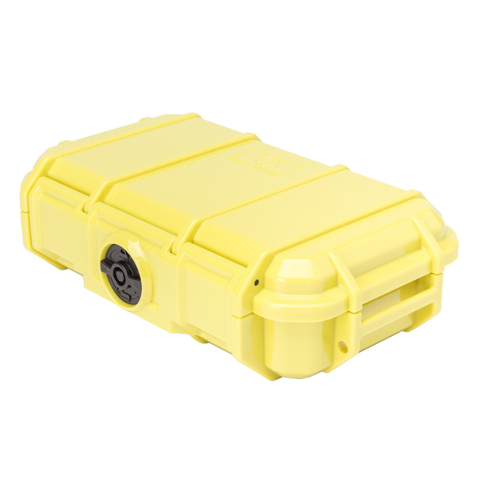 MRT SUPPLY Watertight Crush-Resistant Protective Micro Storage Case, Yellow with Ebook