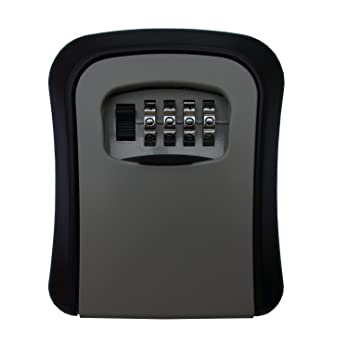 Meta-U Armarios de llaves - - Caja de seguridad para llaves montado en la