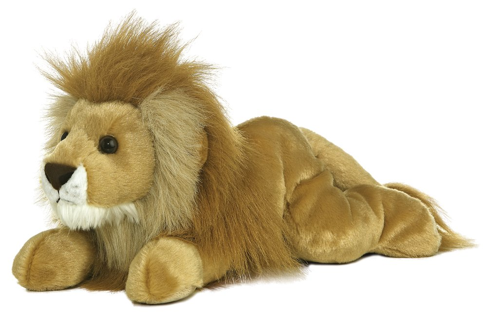 Aurora Leonardus Lion 12-Inch Flopsie Stuffed Animal Inc. Aurora World 31479
