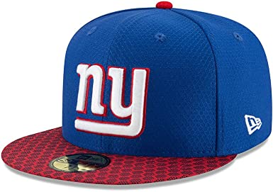 Sideline Home New York Giants New Era 59Fifty Cap