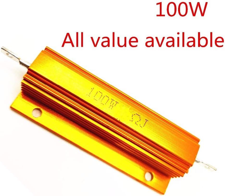 10 Piece Lot 282-100K-RC 100K Ohm 2 Watt 5/% Metal Oxide Resistor