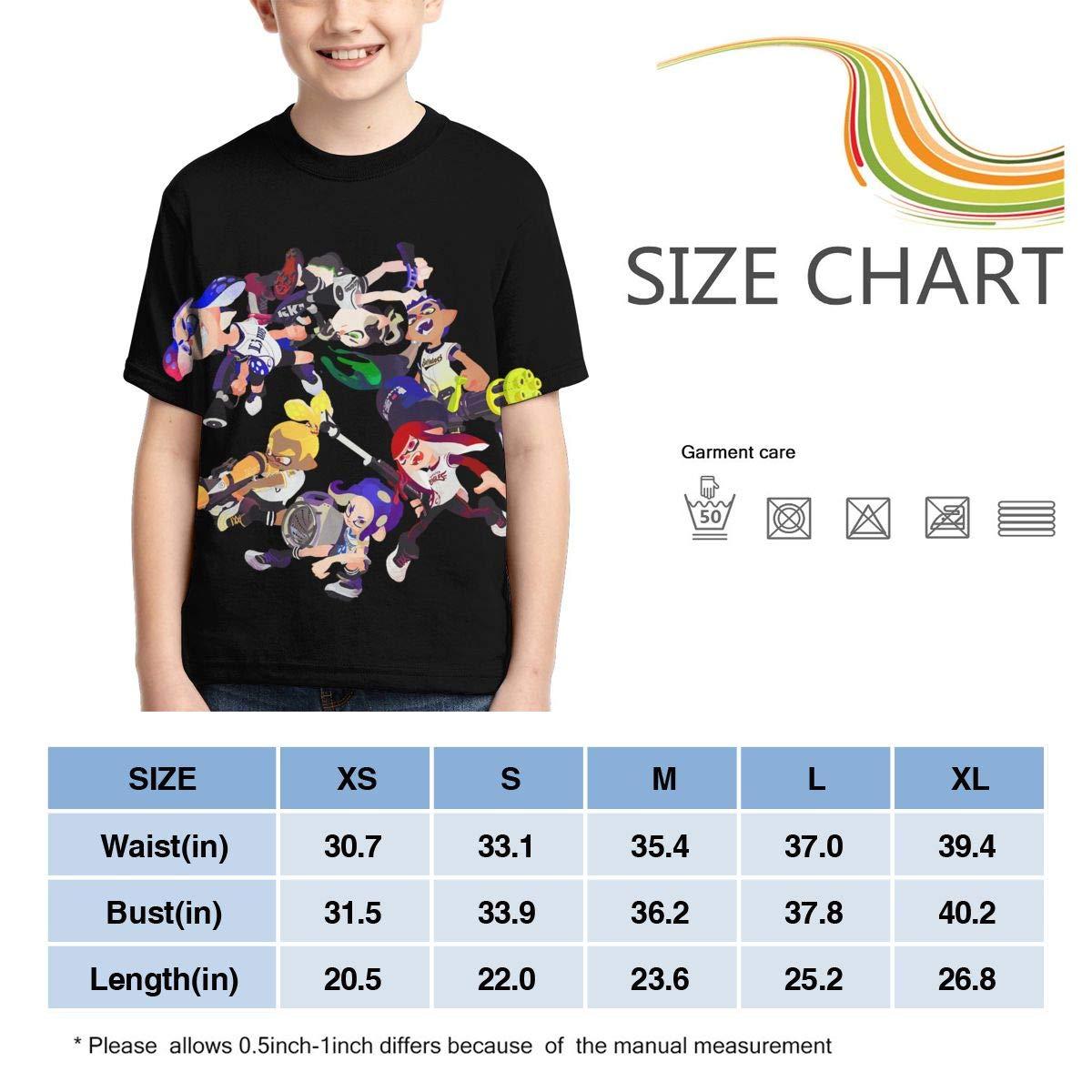 INTERESTPRINT Red Cherries Kids T-Shirt XS-XL