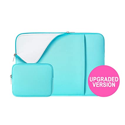 add7e0a2049f RAINYEAR 11 Inch Laptop Sleeve Case Soft Lining Cover Bag with Front Pocket  & Accessories Pouch,Compatible with 11.6