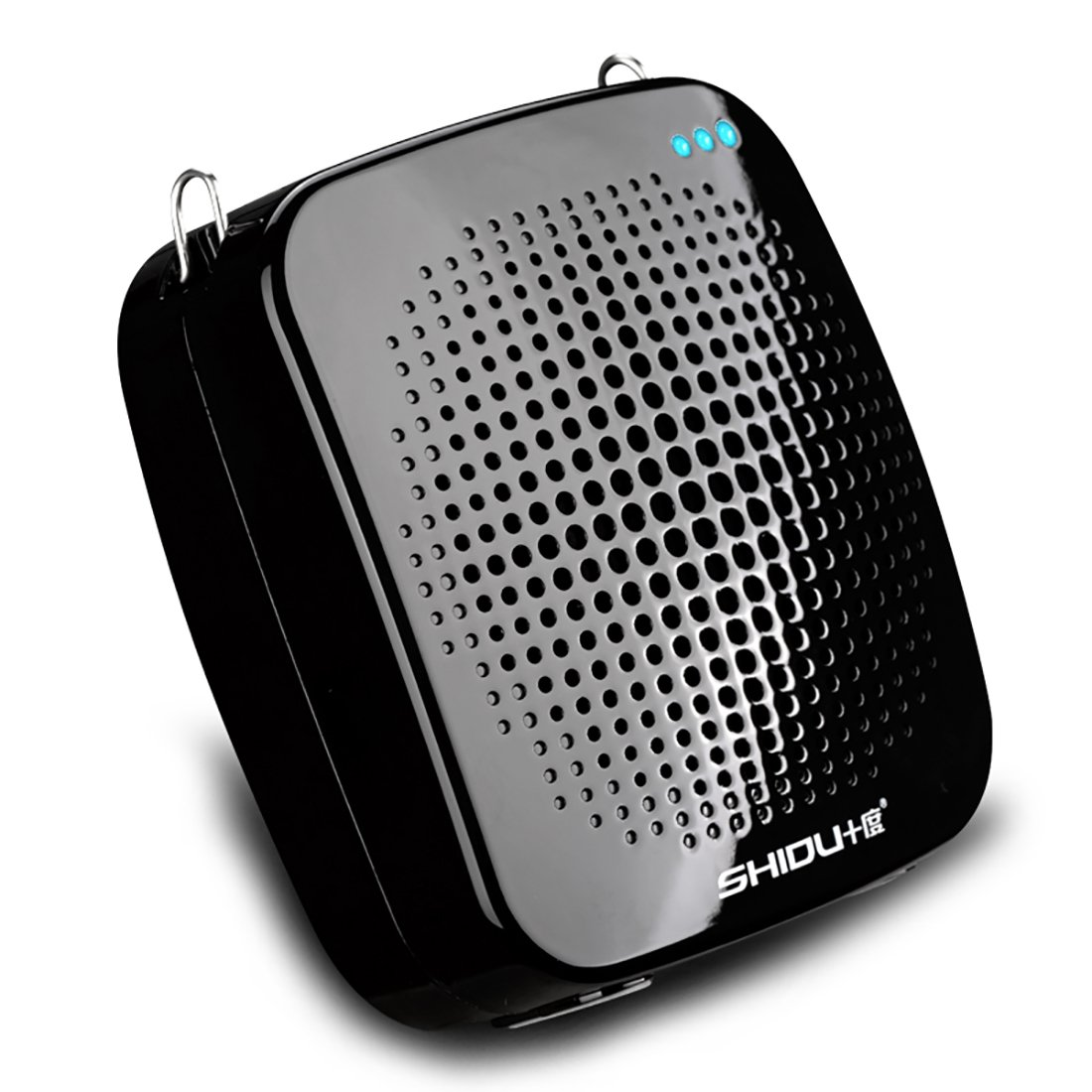 Portable Rechargeable Voice Amplifier with UHF Wireless Microphone Speaker,10Hours PlayTime,2200MAh Rechargeable Battery,Support TF Card//MP3 for Teachers,Tour Guides,Coach